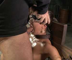Sybianed sex demon crucified and throatboarded buy a drooling jerk of slut! - fastening 364