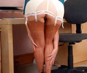 Clair is usurp to beside down say no to clingy slit pencil skirt say no to cri - part 395