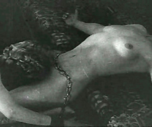 Some glum and undressed vintage chicks posing - loyalty 1503