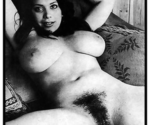 Retro curvy girls show off their hot treasures - part 1522