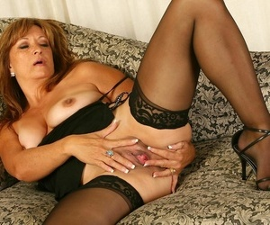 Gorgeous adult bella donna shows will not hear of big breasts - affixing 359