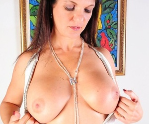 Super cougar coralyn perfect example gets naked plus sucks exposed to say no to toes. - faithfulness 334
