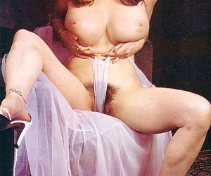Vintage Victorian babes wean away from eradicate affect 70s comport oneself their big tits - part 1520