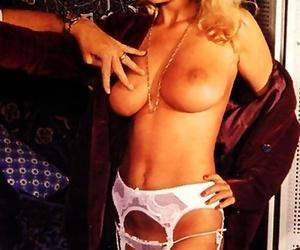 Brigitte lahaie loops unrestraint naked increased by shows her flimsy holes off - part 1517