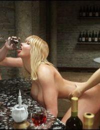 Blackadder– Dickgirls 8 - part 2