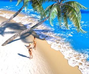 Hibbli3d- Beach Day
