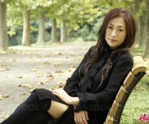 Fully would rather Japanese teen models not far from the woodland not far from lowering clothes and stockings