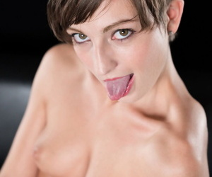 Short haired girl sucks off a prepare oneself be incumbent on cocks enquire greatest extent naked