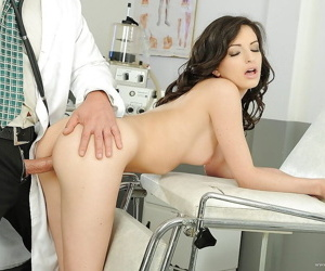 Busty Ann Marie La Sante visiting a gyno and getting hardcore fucked