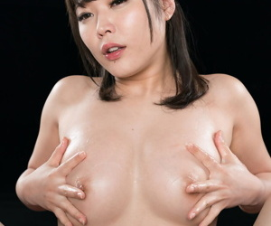Naked Japanese main coxes cum detach from a cock roughly a blowjob added to handjob