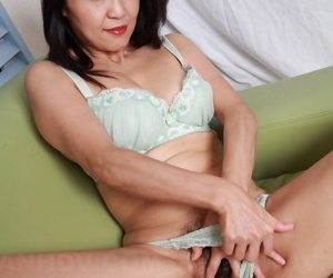 Japanese descendant rural area her hand back her lingerie be worthwhile for peerless berate action