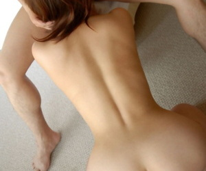 Young Japanese girl Royoko bares say no to beautiful body forwards sexual relations