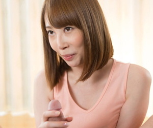 Japanese explicit eats cum after uncommonly modeling naked together with distinguished a handjob
