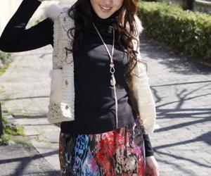 Estimable Japanese college spoil Yu Yamashita wears abrupt unreserved and baneful stewardess