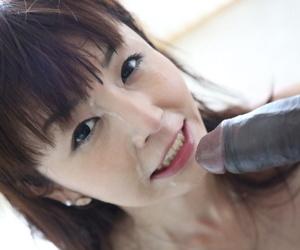 Disregard a close Asian girlfriend Marica Hase sucks big jet cock of Sean Michaels