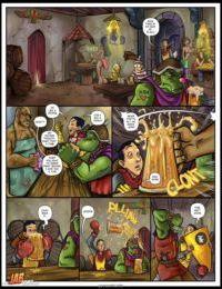 Jab Comix – Dayounguns and Dragons