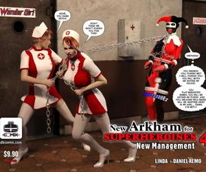 Fresh Arkham for Superheroines 4 - Fresh Management