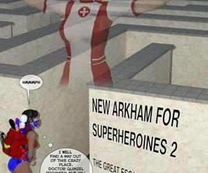 Fresh Arkham for Superheroines 2 - The Insane Escape
