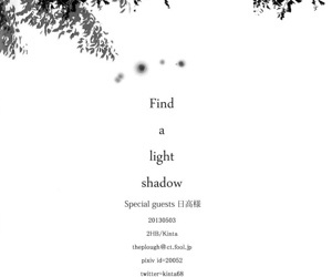 Find a light shadow - part 3506