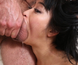 Hot Asian chick Ayumu Kase gets pussy fucked together with bore fingered all round estimated fucking