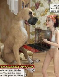 Animal Sex in Incest Family 2 - part 3