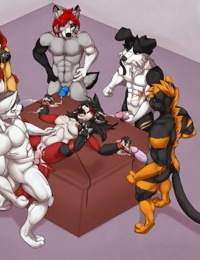 Yiff group sex compilation part 2