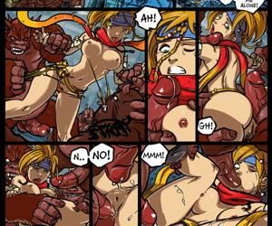 Rikku! You Can Run- Barrier You Slang Hide!