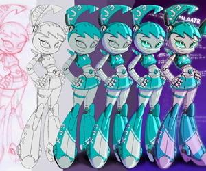 14-bis art colored