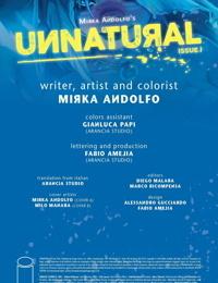 Unnatural - Issue 1