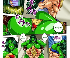 Alex vs. She Hulk