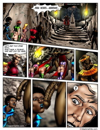 Interracial Space Sluts - Episode 1: Planet Ebony Five