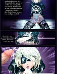 Nier Autofellatio - Nier Automata Hentai Manga
