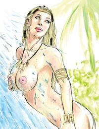 Jungle Fantasy - Ivory 006