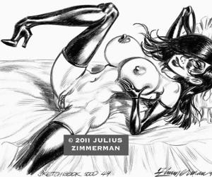 Collected artwork of Julius Zimmerman - part 2
