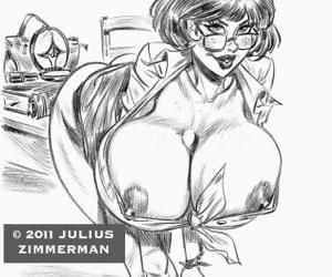 Collected artwork of Julius Zimmerman - part 3
