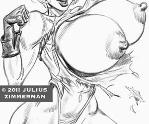 Collected artwork of Julius Zimmerman