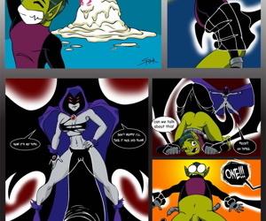 Raven x Beast Boy