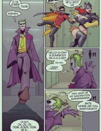 Ruined Gotham: Batgirl loves Robin