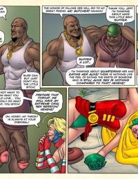 Superheroine comixxx - Wonder Weasel Begins.