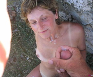 Bungler wives drag inflate and succeed in cumshots - part 2100