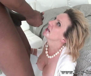 Load of shit hungry lady sonia sucks attractive black nectar - part 2544