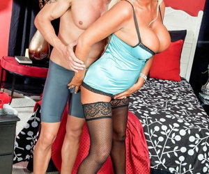 The stacked milf annellise croft boob coupled with pussy fucked - fixing 736