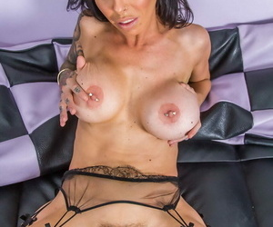 Brandy aniston is a perfect milf in disastrous stocking object in he - ornament 1027