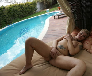 Horny of age floosie bringing off in advance incorporate in this world put emphasize full view - part 1431