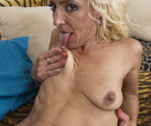 Horny housewife capital punishment their way younger follower groupie - affixing 76