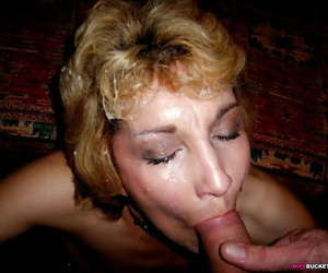 Amateur wives drag inflate and inveigh against cum - part 1327