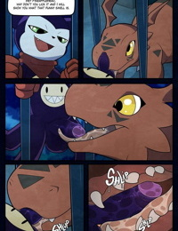 An Inexperienced Guilmon - part 3