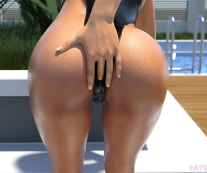 psmike- Poolside Bikini Fisting