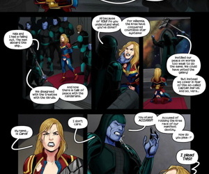 Tracy Scops- Captain Marvel Accused