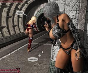 MrBunnyArt- Patriotica vs Electra Short Story